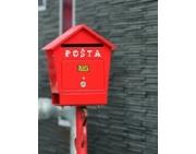 Poštové schránky, vhozy a číslice